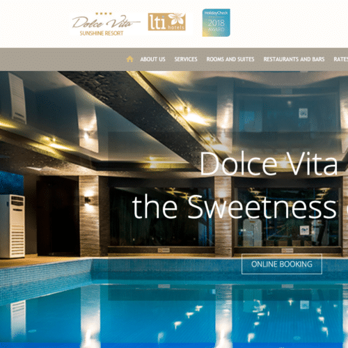 Hotel Website - DolceVita LTI